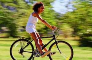 5大特效自行车减肥法