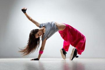 瘦腿舞蹈与动作