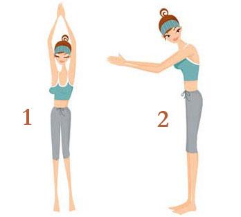练瑜伽瘦手臂