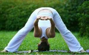练此瘦身瑜伽五分钟就能瘦