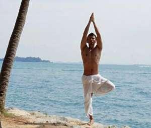 瑜伽树式的降低难度法