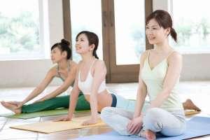 瑜伽减肥法