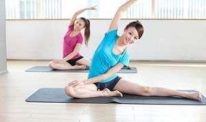 5式瑜伽轻松迅速瘦腰腹