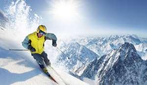 滑雪的方式